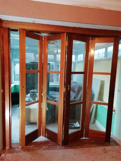 Internal Bi Folding Timber Doors