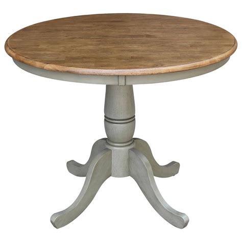 International Concepts K 36Rt 36 Inch Round Pedestal
