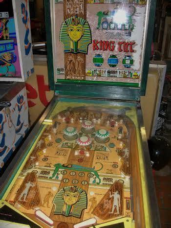 Internet Pinball Machine Database Bally King Tut