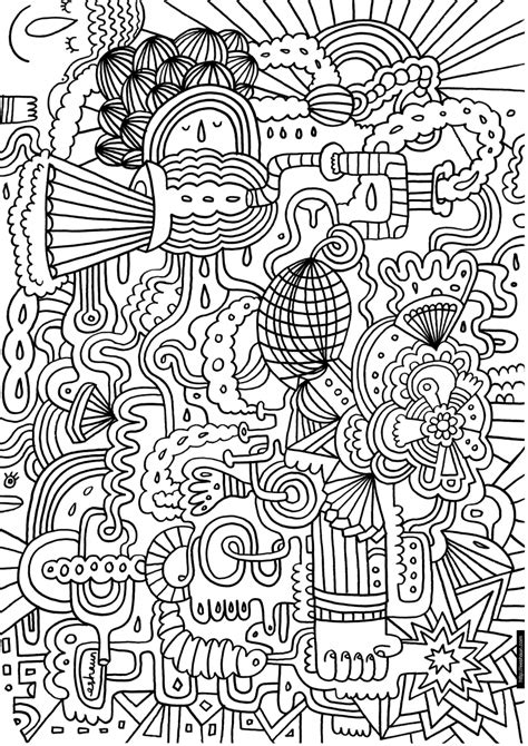 Intricate Designs Free Coloring Pages crayola
