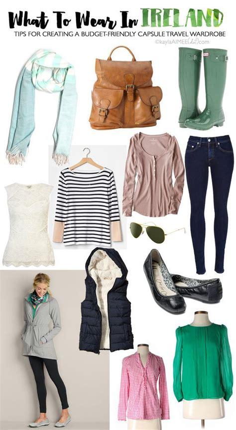 Ireland Vacation Clothing You Should Pack Ireland Family