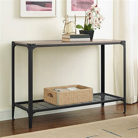 Iron Console Table Iron Accents