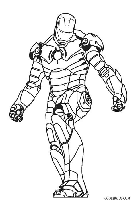 Iron Man coloring page Free Printable Coloring Pages