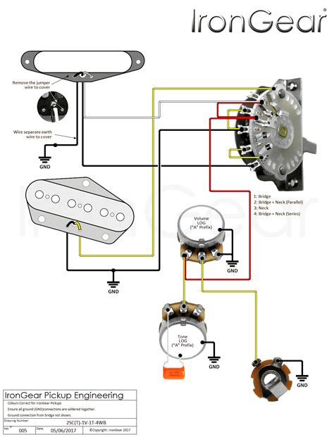 four way switch wiring diagram telecaster telecaster 2 humbuckers 4 way switch wiring diagram images telecaster 2 humbuckers 4 way switch wiring