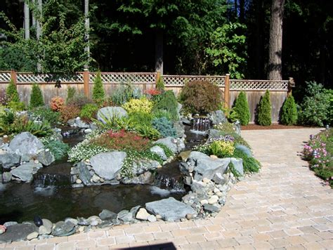 Island Rock and Water High End Landscaping Gig Harbor