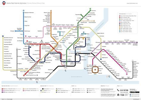 Istanbul Metro Map Turkey Travel Planner