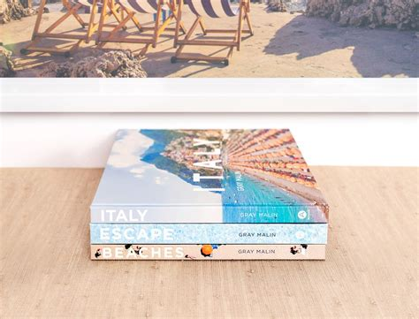 Italy Travel Vacation Coffee Table Photo Book