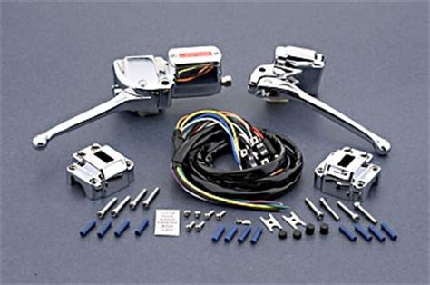 J P Cycles Complete Handlebar Control Kit 5000819