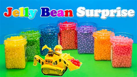 JELLY BEAN SURPRISE Nickelodeon Funny Paw Patrol Disney