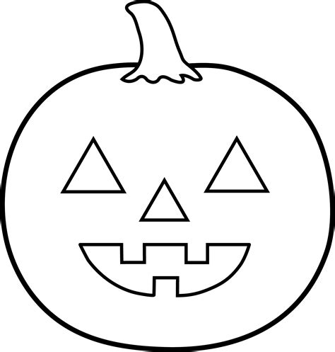 Jack o lanterns Printable Templates Coloring Pages