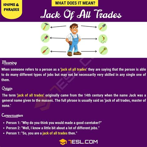 Jack of all trades Define Jack of all Dictionary