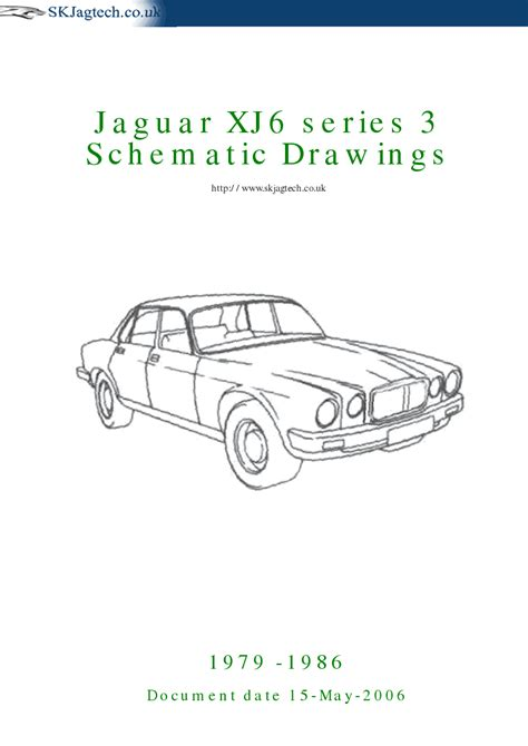 Jaguar XJ6 series 3 Schematic Drawings
