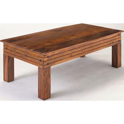 Jaipur Sheesham Coffee Table Solid Wood at Homebase