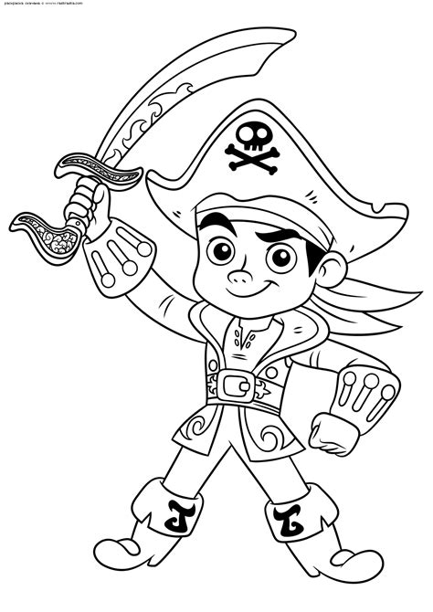 Jake and the Never Land Pirates Coloring page a dilcdn