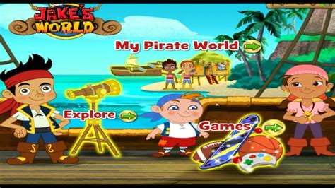 Jake and the Neverland pirates game Insane Free Games Online