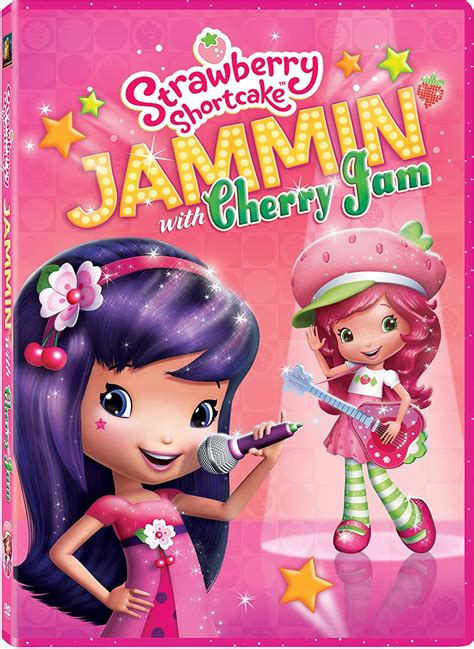 Jammin with cherry jam strawberry shortcake coloring pages