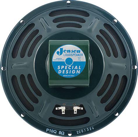 Jensen P10Q 35W 10 Replacement Alnico Speaker 8 OHM