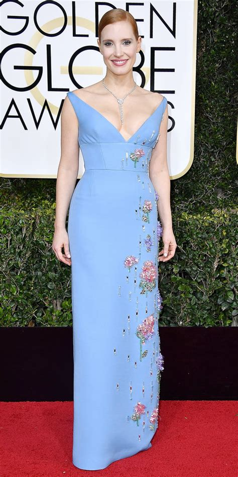 Jessica Chastain s Best Red Carpet Looks Ever InStyle
