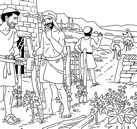 Jesus Parables Coloring Pages