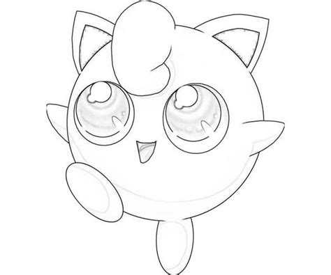Jigglypuff Coloring Pages for Kids to Color and Print