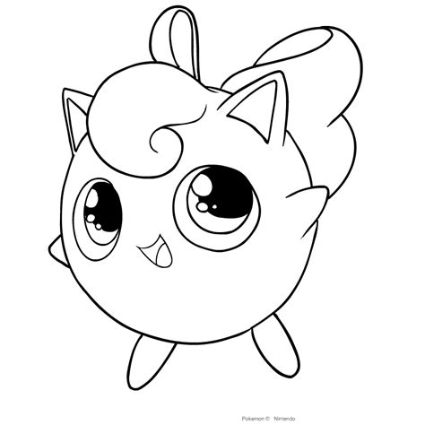 Jigglypuff coloring pages Jigglypuff coloring pages