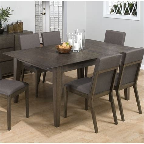 Jofran 728 Series Rectangular Dining Table in Antique Gray