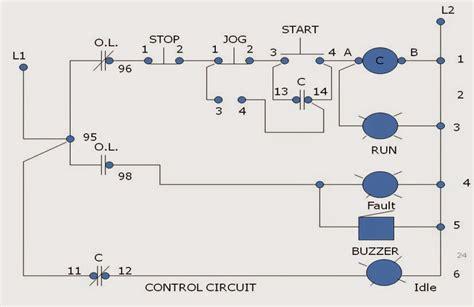 Jogging Control Circuits Industrial Electronics