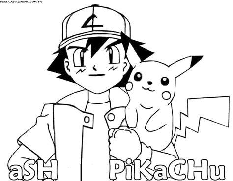 Jogo Colorir Pikachu e Ash no Jogos 360