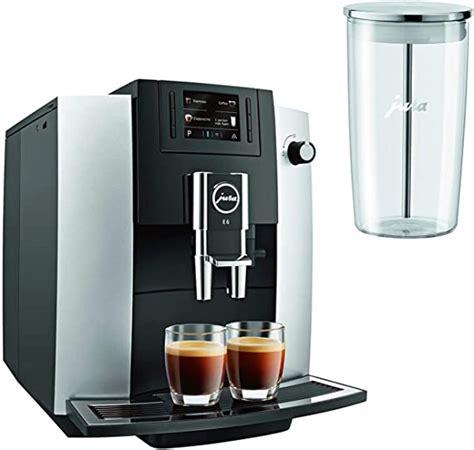 Jura E6 Automatic Coffee Center Platinum Sur La Table