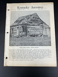 KENTUCKY ANCESTORS Kentucky Historical Society