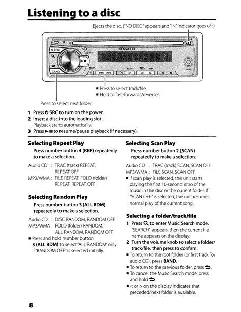 kenwood kdc 108 stereo wiring diagram images kenwood kdc 148 instruction manual pdf