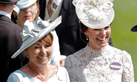Kate Middleton reveals mum Carole has a crush on Roger Federer
