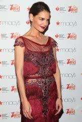 Katie Holmes In Marchesa Red Carpet Fashion Awards