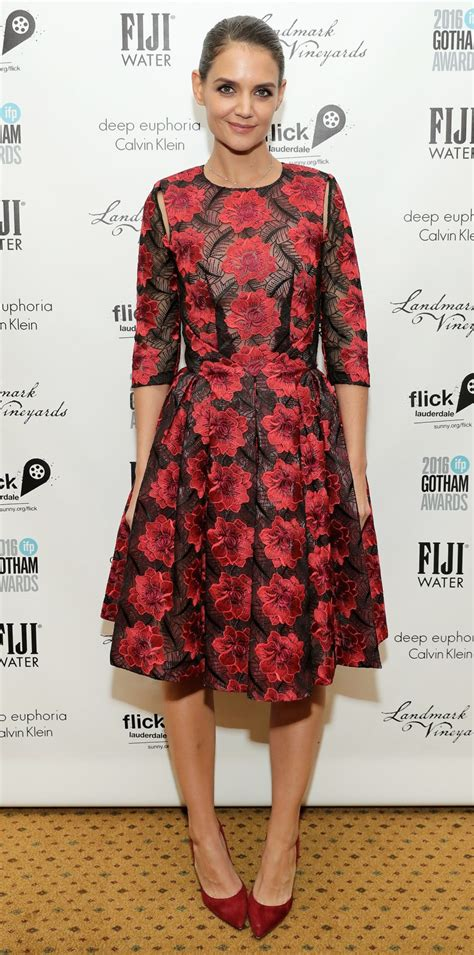 Katie Holmes s Red Carpet Style InStyle