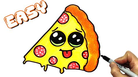 Kawaii Food How to Draw Kawaii Stuff EASY Pizza