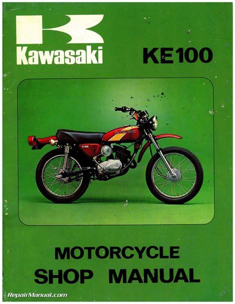 1994 kawasaki ke100 wiring diagram images wiring diagram 2001 kawasaki g5 ke100 ke 100 manual