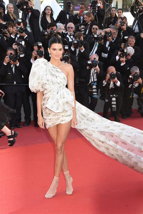 Kendall Jenner Wears Socks With Sandals on the Cannes Red