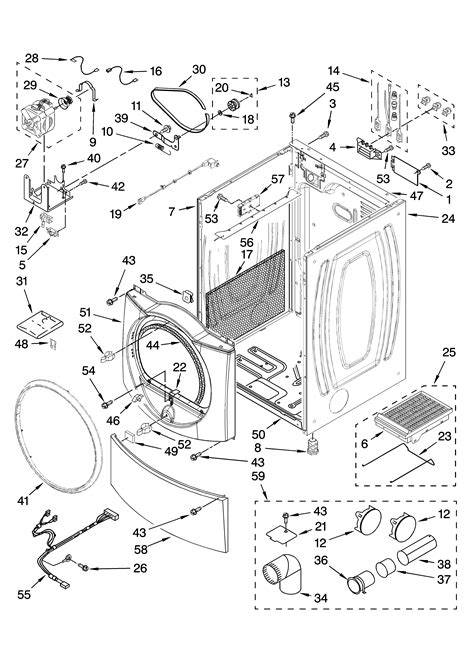 wiring diagram for a kenmore elite dryer images dryer wiring kenmore elite dryer parts sears partsdirect