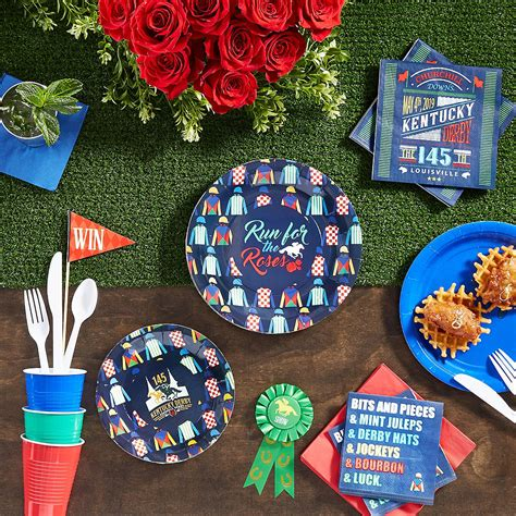 Kentucky Derby Beverage Napkins 16ct Party City