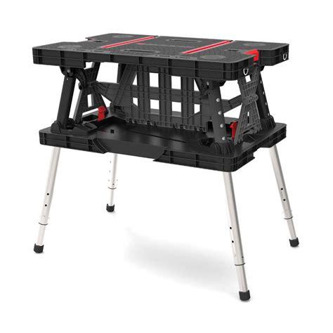 Keter 21 65 in x 33 46 in x 29 7 in Folding Work Table