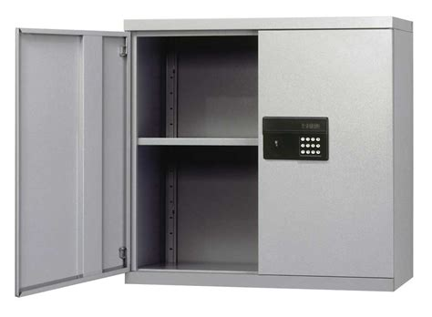 Keyless Electronic Wall Cabinet by Edsal in Home Safes