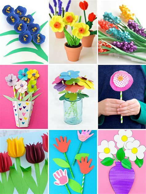 Kid Activities Seasonal Flower Theme