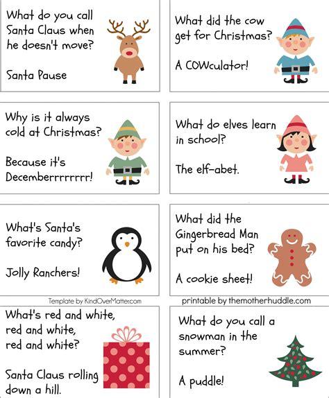 Kid Activities Winter Time Jokes Christmas too
