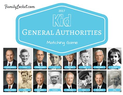 Kid General Authorities Coloring Book and Matching Game