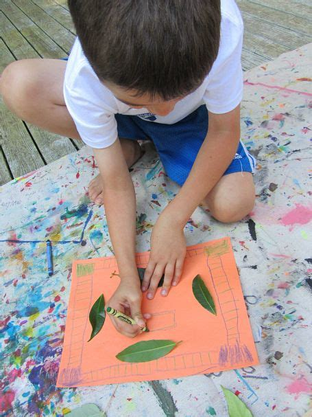 Kid Made Fall Placemats No Time For Flash Cards