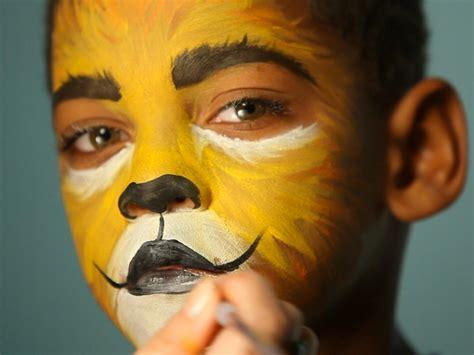 Kid s Halloween Makeup Tutorial Lion HGTV