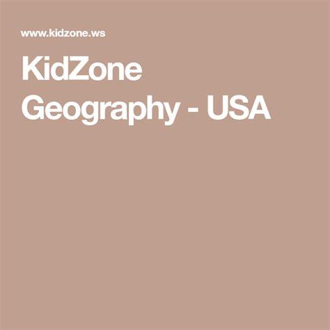 KidZone Geography USA