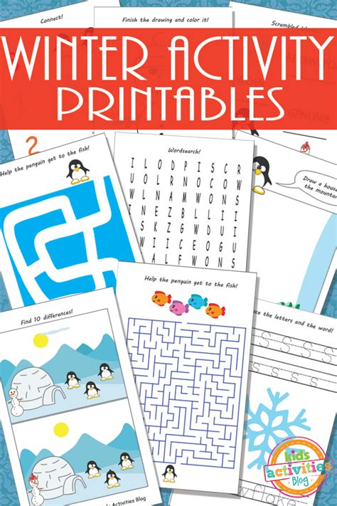 Kids Activities Free Printable Kids Activity Sheets