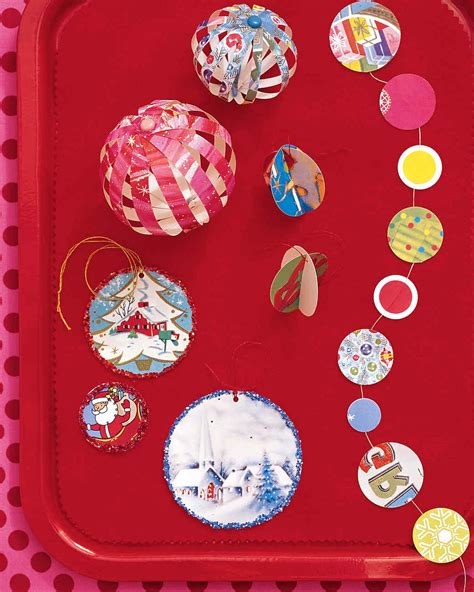 Kids Christmas Crafts Martha Stewart