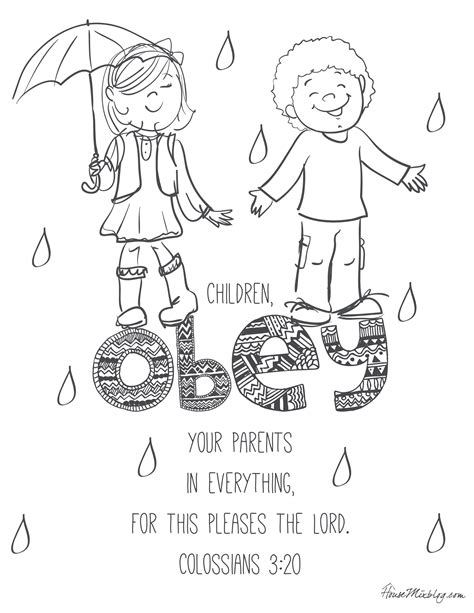 Kids Color Me Bible Printable Bible Coloring Book with